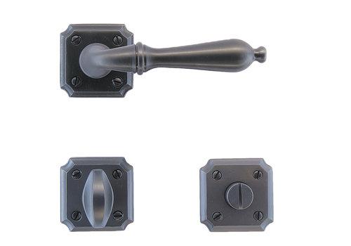 Anthracite gray door handles Lisa with WC