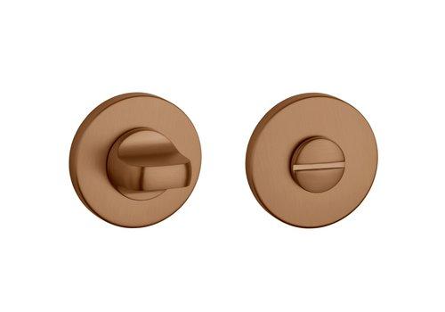 WC set matt Copper round Ø 52x5mm