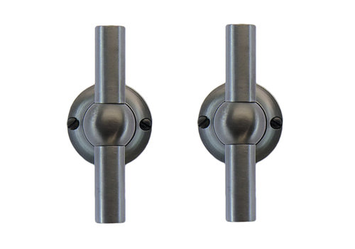 Anthracite gray door handles Petra T+T without BB