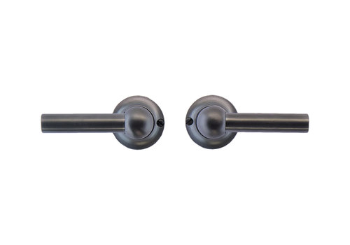 Anthracite gray door handles Petra L+L without BB