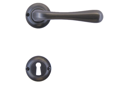 Anthracite gray door handles Gretana with BB