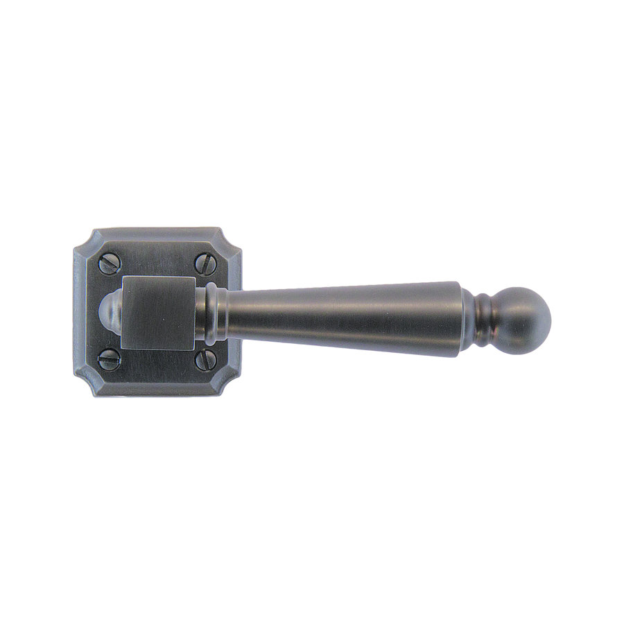 Anthracite gray door handles Rubens without key plates