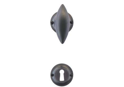 Anthracite gray door handles Olina with BB
