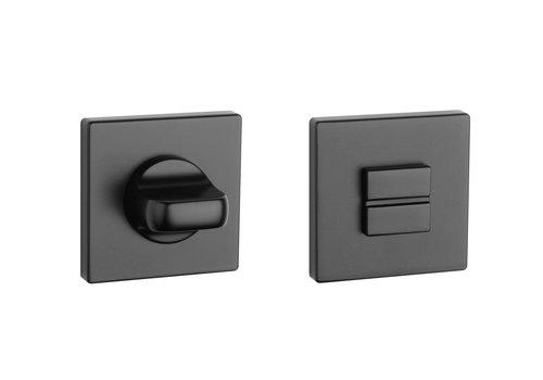 Black WC set square 5mm