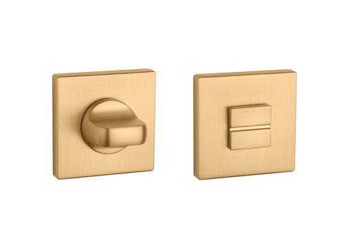 WC set square matt Gold 5mm