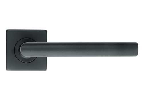 Black door handles 'Square I Shape 16mm' without BB