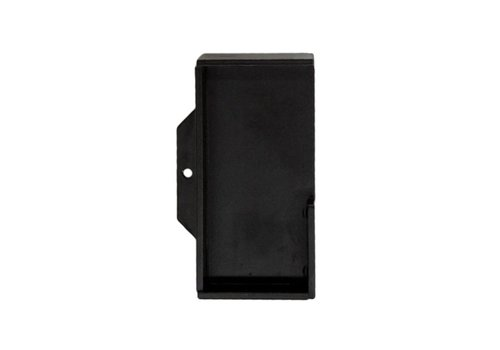 POCKET SHELL CARRE SOLID 40MM BLACK EACH