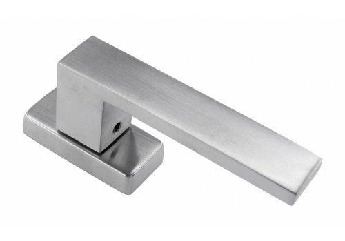 Window handle Cubica stainless steel look