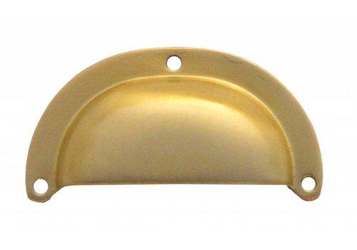 Cupboard puller shell modern matt copper