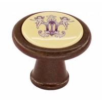 Meubelknop Decor 35mm roest