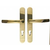Titanium veiligheidsgarnituur  klink/klink profielcilinder 72MM