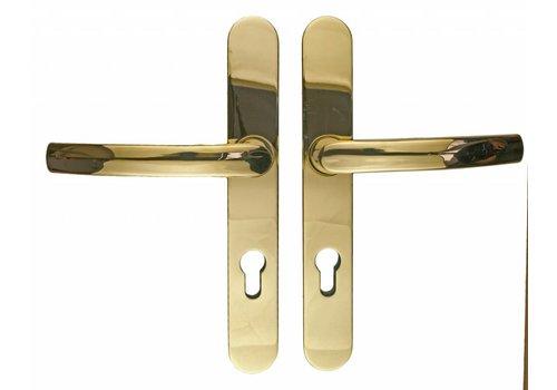 Titanium security fitting  handle/handle PZ 72MM