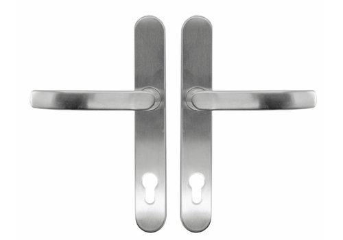 SAFETY DOOR HANDLE + HANDLE INOX PLUS PC72MM