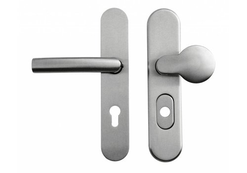 Safety set FSB stainless steel plus lock size 72mm