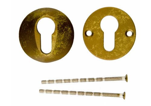 ENTREE CYLINDRE DE SECURITE OLD YELLOW 10MM