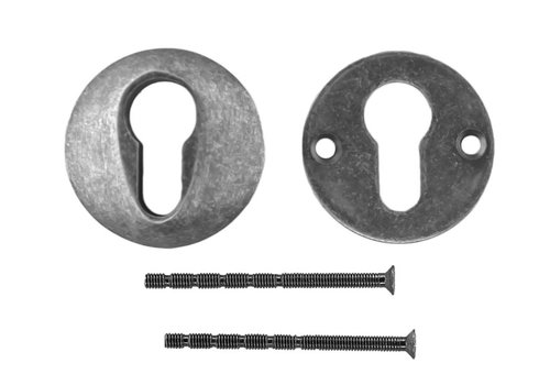 ENTREE CYLINDRE DE SECURITE OLD SILVER 10MM
