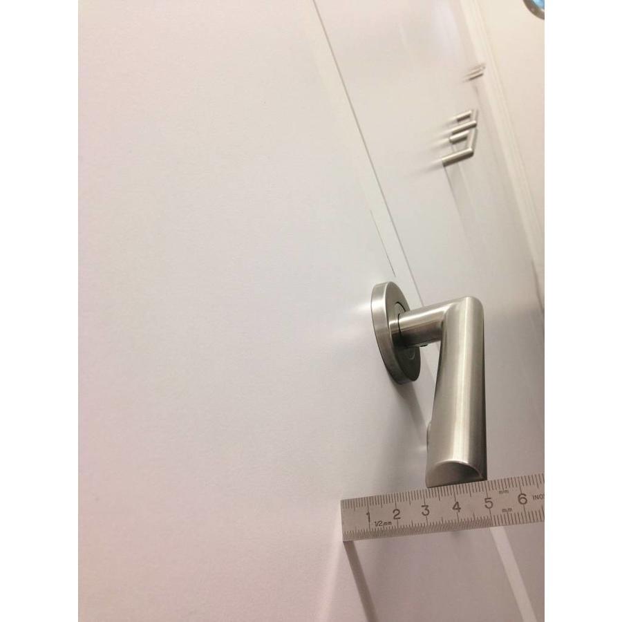 """RVS deurklinken rolluik """"I shape"""" met sleutelplaatjes"""