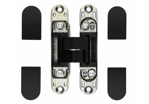 Invisible 3D hinge AGB eclipse 3 black