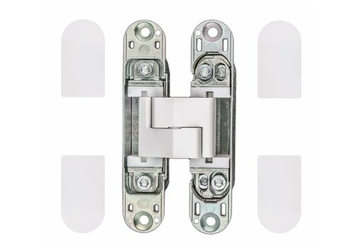 Invisible 3D hinge AGB eclipse white