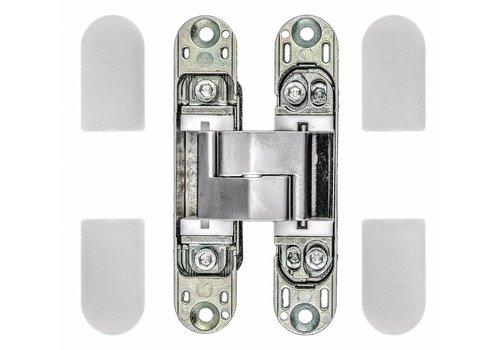 UNSICHTBARES 3D-SCHARNIER AGB ECLIPSE 3 INOX