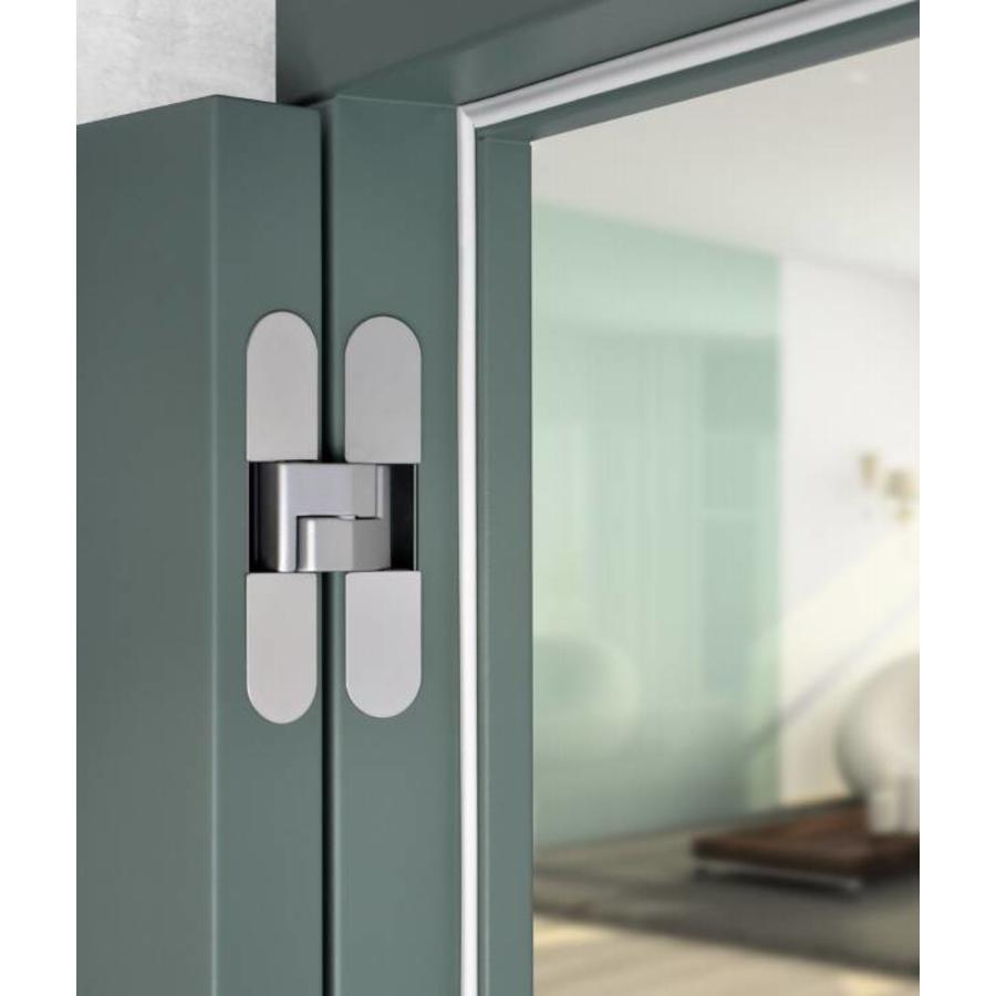 INVISIBLE 3D HINGE AGB ECLIPSE 3 INOX