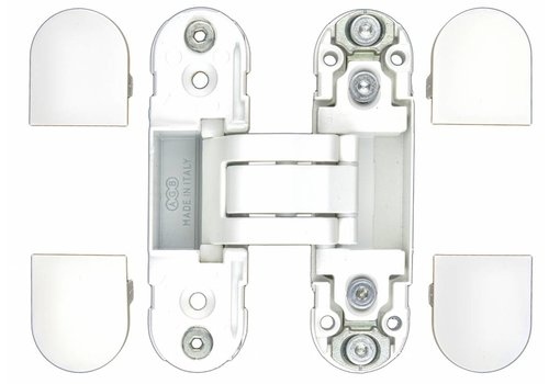 INVISIBLE 3D HINGE AGB ECLIPSE 2 WHITE