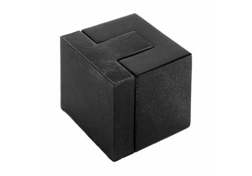 """Floor door stop """"Carre"""" in black version"""