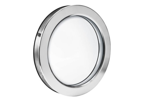 Hublot en acier inoxydable B2000 250 mm + verre de sécurité transparent