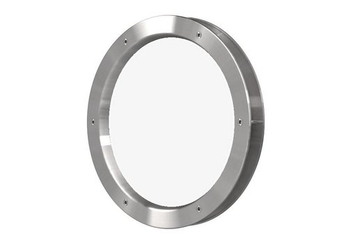 Porthole B4000-A6 stainless steel look 400 mm + transparent safety glass
