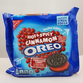 Nabisco Oreo Cinnamon Hot & Spicy Limited Edition