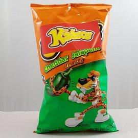 Kääsos Cheddar Jalapeno Crunchy 8 oz.