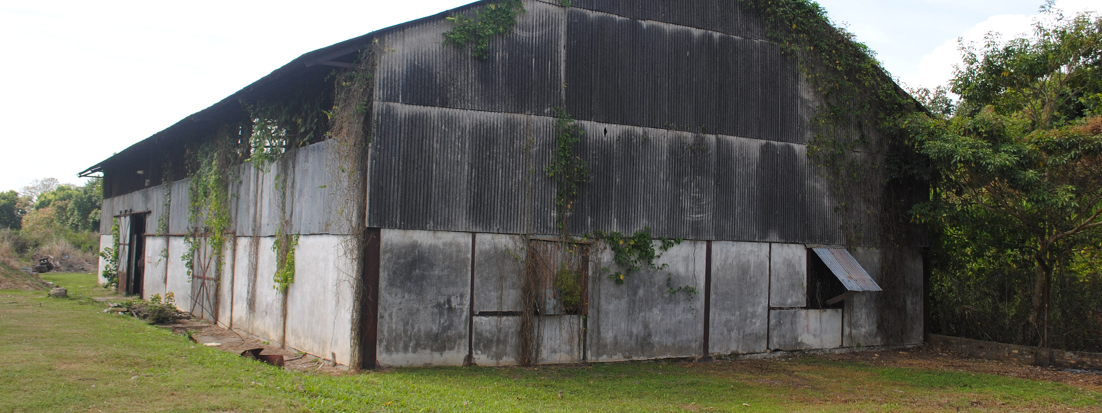 Caroni rum distillery