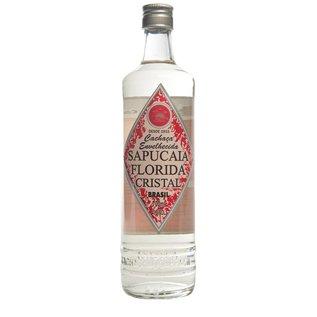 Sapucaia 10 FLASCHEN - Cachaca Sapucaia Florida Cristal - klassisch - 2 Jahre gereift - 40,50% - 700 ml
