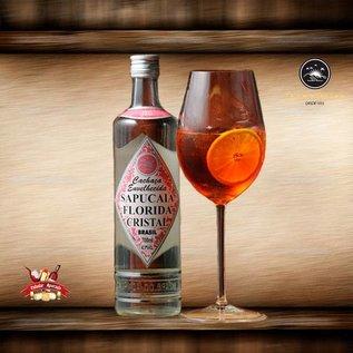 Sapucaia 10 BOTTLES - Cachaca Sapucaia Florida Cristal - classic- matured 2 years - 40,50% - 700 ml