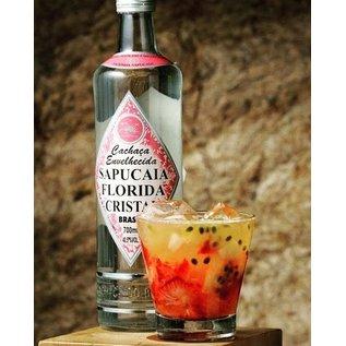 Sapucaia 10 FLESSEN - Cachaca Sapucaia Florida Cristal - klassiek - 2 jaar gerijpt - 40,50% - 700 ml