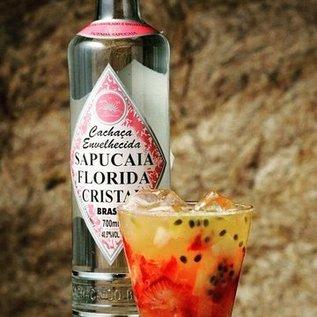 Sapucaia Cachaca Sapucaia Florida Cristal - classic- matured 2 years - 40,50% - 700 ml
