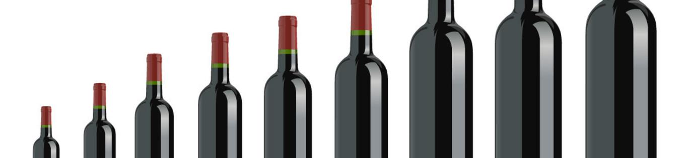 Formaten van wijnflessen