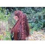 Gothic Haarteil, Größe M, wild style