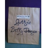 Gothic Belly Dance Surprise Bag