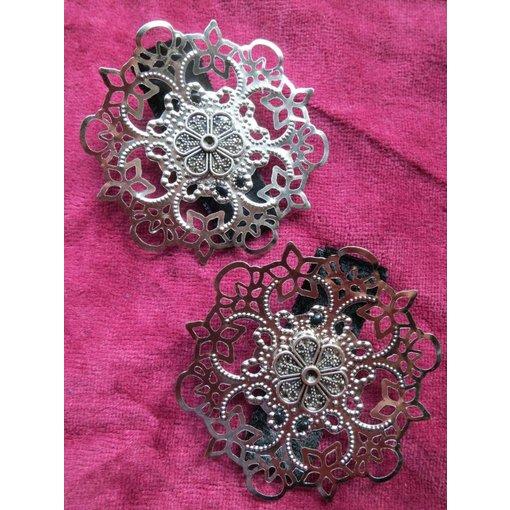 Haarblume Gothic Ornament