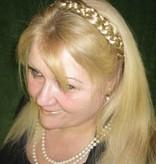 Braided Headband Snow White, medium