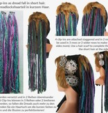 Clip-In Feder Dreads