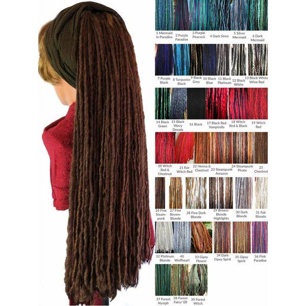 Dreads für kurzes Haar
