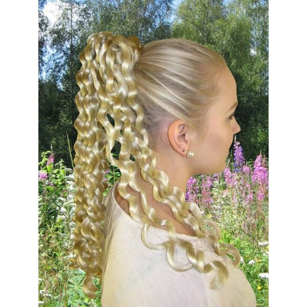 Hair falls, Regency & Victorian curls, M