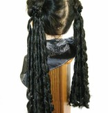 Goth hair falls Baroque or Sissi curls, 2 x S for pigtails