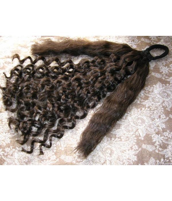 Gothic hair falls, romantic curls, size L