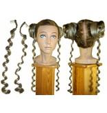 Ringlets, clip-in single baroque curls