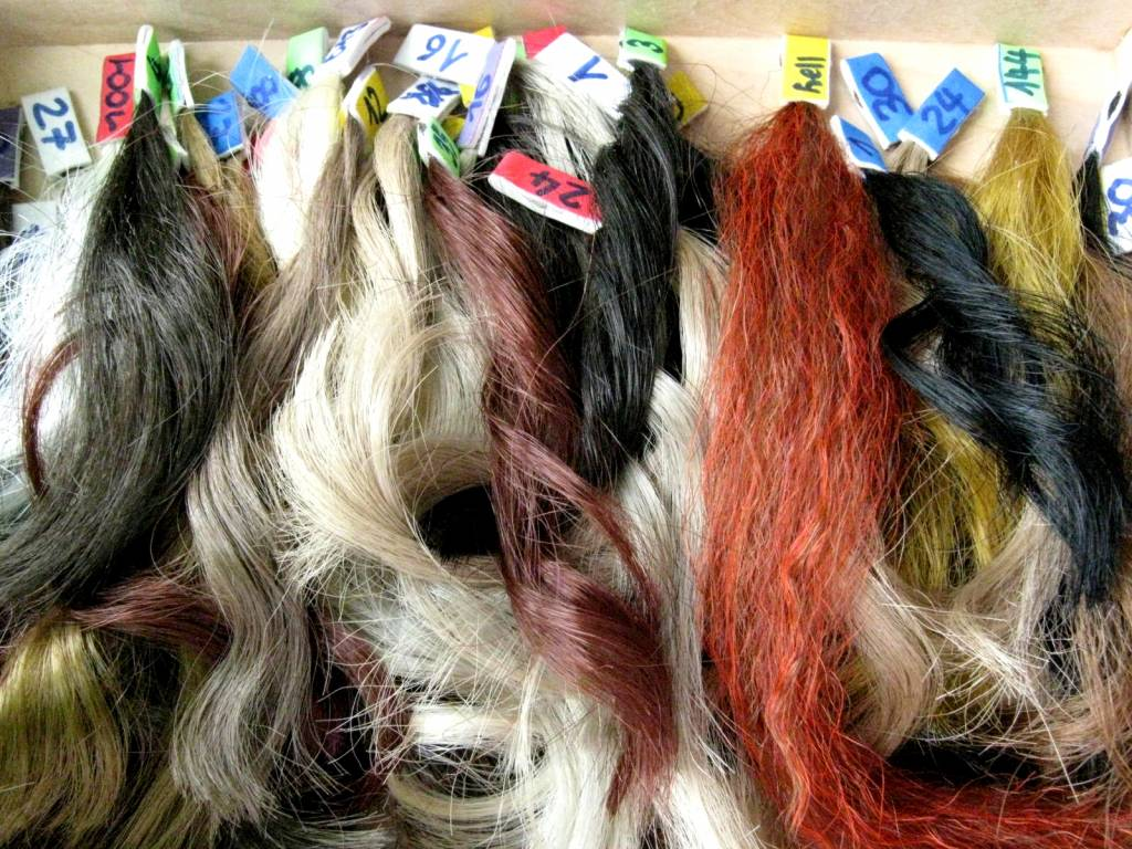 Color swatches for custom hair pieces MAGIC TRIBAL HAIR ...