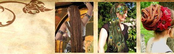 Dreadlocks Haarteile, Dutte & Zöpfe