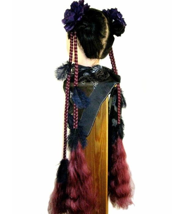 Fantasy Feather Hair Piece